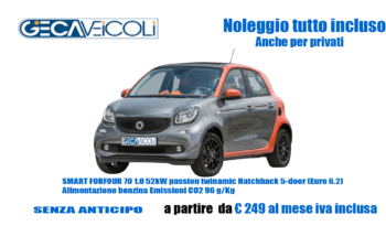 SMART FORFOUR 70 1.0 52kW passion twinamic Hatchback 5-door (E6)